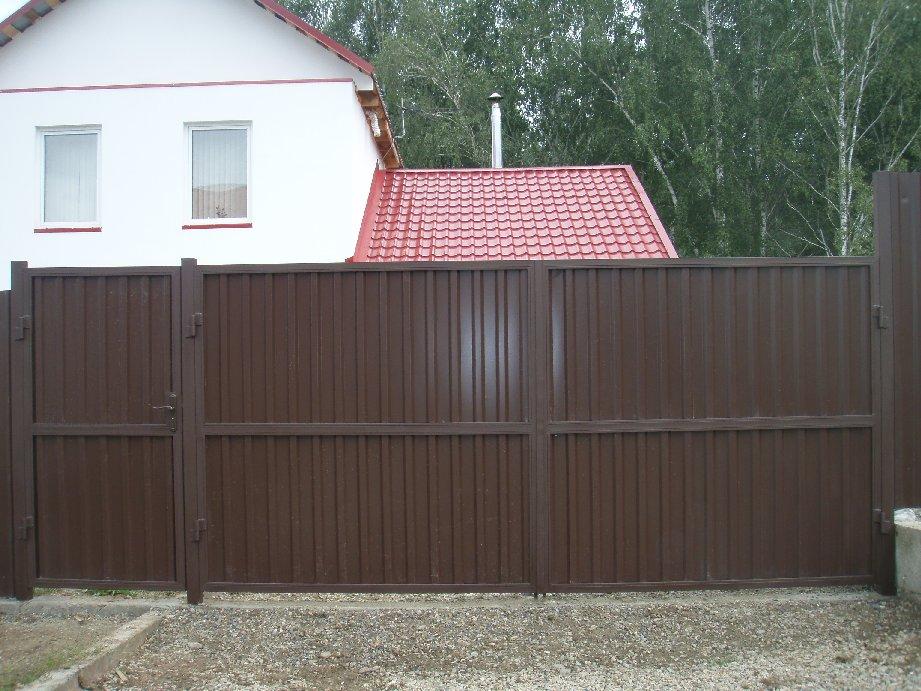 Ворота Красноярск распашные
